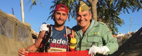 Incontestable victoria de Mauri Lobato, del 4º Tercio, en la I edición de La Desértica