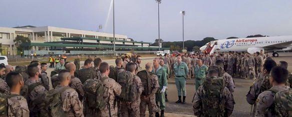 El Grupo de Caballería de Ronda amplía el número de efectivos desplegados en Mali, Un total de 60 legionarios de la BRILEG han partido esta mañana…, 12 Jan 2018 - 18:02
