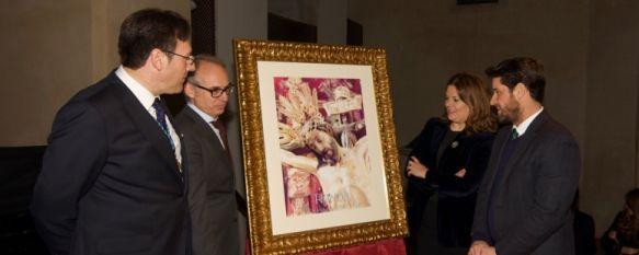 El Cristo de la Sangre protagoniza el cartel anunciador de la Semana Santa de Ronda 2018, La Agrupación de Hermandades y Cofradías presentó la imagen…, 15 Jan 2018 - 18:00