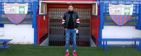 El Extremadura UD incorpora en el mercado invernal al rondeño Curro Harillo, El guardameta se ha comprometido por lo que resta de temporada…, 29 Jan 2018 - 14:21