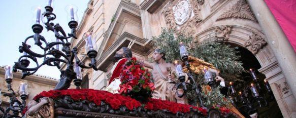 Nuestro Señor Orando en el Huerto, en su complicada salida desde Santa Cecilia // CharryTV