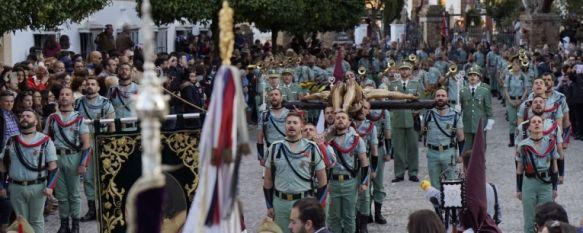 Ilusión y marcialidad legionaria en la nueva etapa de la Hermandad del Ecce-Homo, Juan Jesús García ha vivido su primera estación penitencial…, 30 Mar 2018 - 02:50