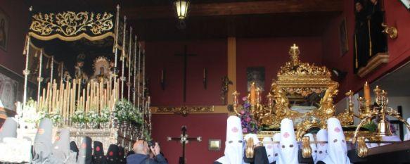 La Hermandad del Santo Entierro tampoco puede realizar su estación de penitencia , El Barrio de San Francisco vuelve a volcarse con sus Titulares:…, 30 Mar 2018 - 22:39