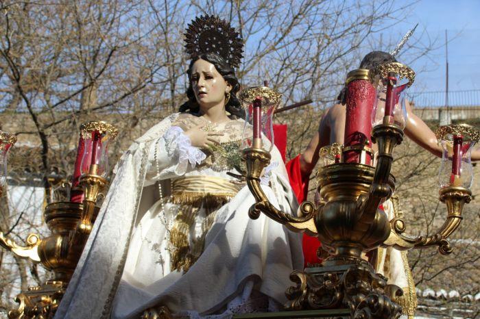 c767ce9a6b7 María Magdalena ha acompañado a Cristo Resucitado en su paso    CharryTV