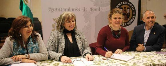 Ronda acoge la firma del acta de constitución de la Asociación 'Ruta de Blas Infante', Diez municipios andaluces relacionados con la vida y obra de…, 13 Apr 2018 - 19:54