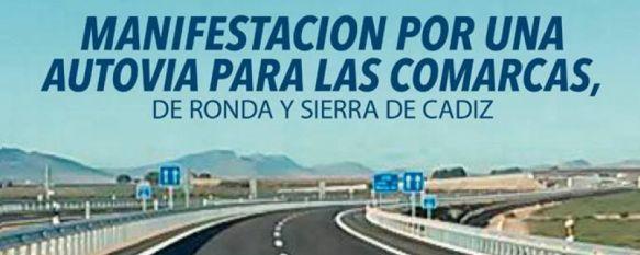 Sobre la manifestación para la mejora en las carreteras de la Serranía de Ronda , Artículo de opinión de Manolo Guerrero , 25 Apr 2018 - 22:53