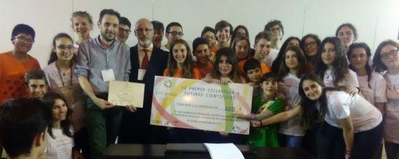 El Instituto Martín Rivero logra el primer premio en la Feria de las Ciencias de Sevilla, Los alumnos expusieron sus trabajos de investigación en el…, 07 May 2018 - 19:47