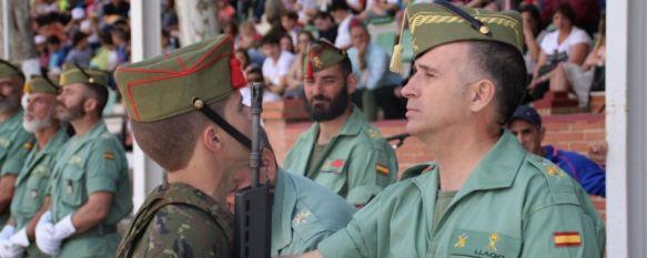 El general Marcos Llago preside en Ronda su primer acto como Jefe de la Brigada de La Legión, Con motivo del alta de 44 nuevos legionarios que han culminado su periodo de instrucción en la Unidad de Formación de Adaptación a La Legión (UFAL), 08 Jun 2018 - 14:37