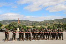 El acto ha tenido lugar en el Patio de Armas del Acuartelamiento de Montejaque // Manolo Guerrero