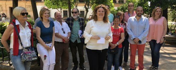Teresa Valdenebro anuncia que no se presentará a las primarias del PSOE de Ronda, La alcaldesa denuncia que el único interés de la agrupación local ha sido