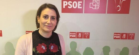 Isabel Aguilera reivindica la legitimidad de su victoria como candidata socialista, La secretaria general del PSOE de Ronda mantiene que el proceso de primarias contó con todas las garantías, 21 Jun 2018 - 16:57