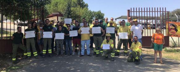 Los trabajadores de Infoca en Ronda inician paros y encierros por el convenio con AMAyA, El acuerdo recoge hasta 60 guardias de 24 horas y turnos de…, 06 Aug 2018 - 18:12