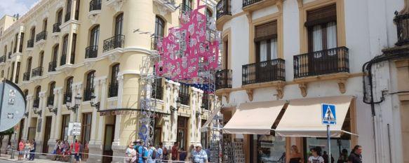 Una portada de feria transgresora y contemporánea, El autor, el arquitecto rondeño Manuel Baena, ha escogido un…, 27 Aug 2018 - 18:48