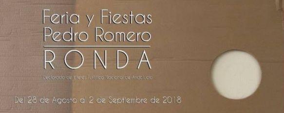 Especial Feria y Fiestas de Pedro Romero 2018, Todos los detalles sobre los eventos de estas fiestas y la programación…, 28 Aug 2018 - 12:31