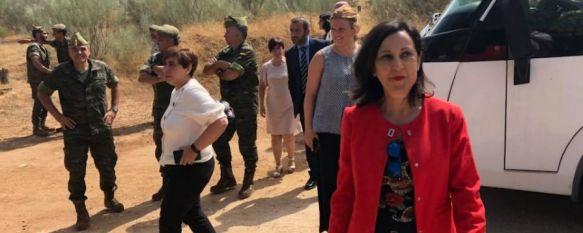 La Ministra de Defensa, Margarita Robles, visita a La Legión en Ronda, La titular de esta cartera ha ensalzado el papel de las Fuerzas Armadas y ha expresado su admiración hacia el trabajo de los legionarios, 03 Sep 2018 - 18:53