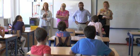 Comienza el curso escolar en Ronda para unos 3.000 alumnos de Educación Infantil y Primaria, El Colegio Virgen de la Cabeza, en la Barriada de la Dehesa,…, 10 Sep 2018 - 19:11