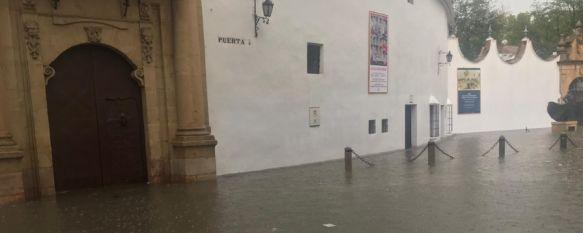 Una tromba de agua deja en Ronda más de 60 litros por metro cuadrado, El Cuerpo de Bomberos recibió 36 llamadas de vecinos afectados mientras que la Policía Local registró hasta 41, 14 Sep 2018 - 19:14