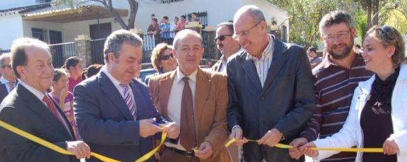 Nuevo Centro de Visitantes en Cortes de la Frontera, También se ha recuperado el entorno del Arboreto, en El Colmenar., 06 Nov 2010 - 20:25