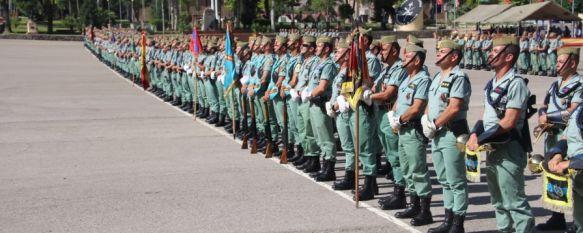 La Legión conmemora el XCVIII aniversario de su fundación, El acto ha contado con una Formación Militar en el Patio de Armas del Acuartelamiento General Gabeiras, 20 Sep 2018 - 19:44