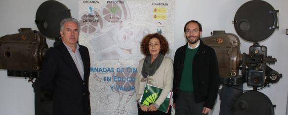 Unos 3.000 escolares participan en las jornadas de Cine Infantil en Educación y Valores, Estas jornadas que organiza la Fundación Lumière se están desarrollando en el Teatro Vicente Espinel, 27 Oct 2011 - 16:15