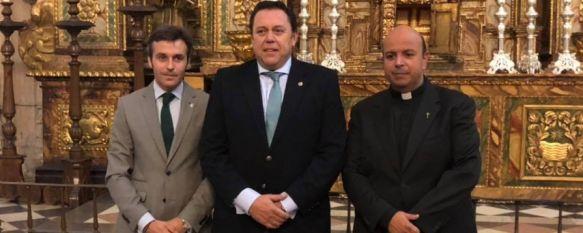 Salvador Carrasco pregonará la Semana Santa de Ronda el 7 de abril de 2019, Este abogado rondeño presidió la Agrupación de Hermandades y Cofradías entre 2012 y 2015, 05 Oct 2018 - 12:39
