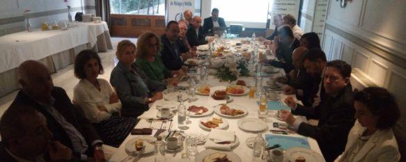 El Colegio de Graduados Sociales de Málaga y Melilla celebra su XIII desayuno de colegiados, El encuentro, celebrado en el Parador de Ronda, ha servido como foro de intercambio de ideas entre estos expertos en derecho laboral, 05 Oct 2018 - 19:36