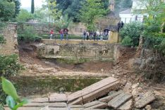 Imagen de la zona afectada.  // CharryTV