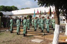 El acto se ha desarrollado en el Panteón Militar del camposanto rondeño  // CharryTV