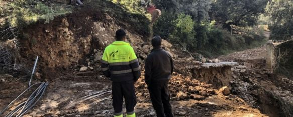 La Junta adelantará los trabajos de arreglo de caminos en 20 municipios malagueños, El Gobierno andaluz actuará de urgencia en los términos municipales de Ronda, Benaoján, Alpandeire y Faraján , 12 Nov 2018 - 20:01
