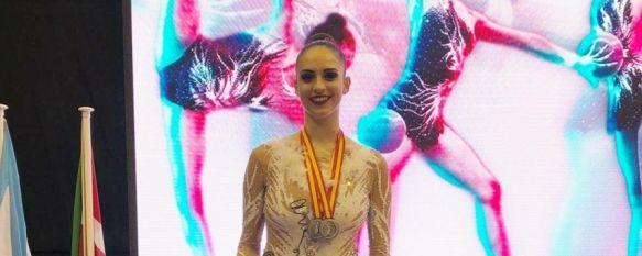 La rondeña Lucía Alcalá se proclama Subcampeona Nacional en gimnasia rítmica, La deportista ha obtenido la mayor puntuación del conjunto…, 13 Nov 2018 - 18:43