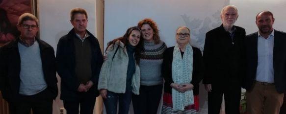 Anna Ferrer se reúne con los familiares de los fallecidos en India en 2017, La presidenta de la Fundación Vicente Ferrer visita Ronda a pocos meses del 50º aniversario del trabajo de la organización en este país, 20 Nov 2018 - 18:43