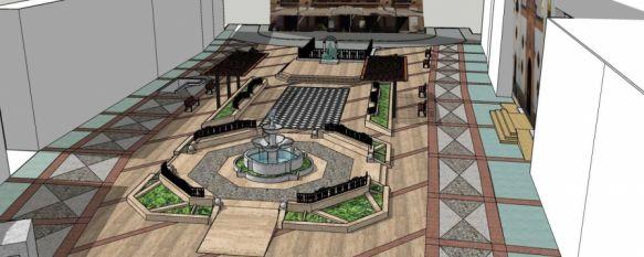 La renovación de la Plaza del Socorro creará nuevas zonas ajardinadas para crear un espacio más íntimo y agradable. // CharryTV