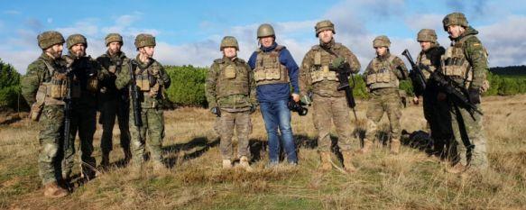 Empotrados con la 2ª Compañía de la Xª Bandera en el Ejercicio Quick Lion , El 4º Tercio y el Grupo de Caballería participan en las maniobras en las que las FAS han certificado su capacidad para liderar la Fuerza de Reacción Rápida de la UE, 29 Nov 2018 - 08:47