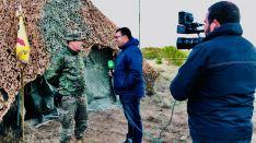 Entrevista al capitán Jesús González, jefe de la 2ª CÍA de la Xª Bandera  // Miguel Temprano