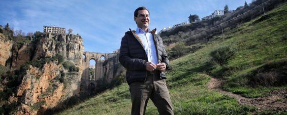 Juanma Moreno promete la conexión por autovía con Málaga y Sevilla si gobierna en Andalucía , El candidato del Partido Popular a la presidencia de la Junta…, 29 Nov 2018 - 15:13