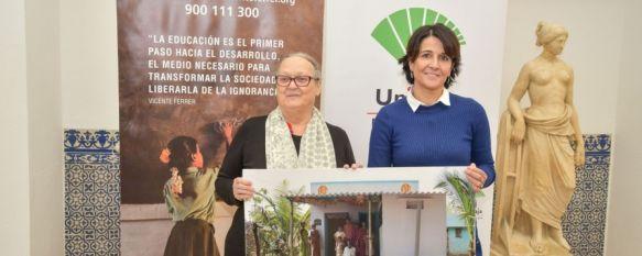 Las fundaciones Unicaja y Vicente Ferrer colaboran en un proyecto de viviendas en India, El acuerdo entre ambas entidades para luchar contra la pobreza en el país asiático ha coincidido con la visita en Ronda de Anna Ferrer, 03 Dec 2018 - 18:37