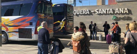 Adif no pone fecha para restablecer la línea ferroviaria con Málaga, Algeciras y Madrid, A raíz del temporal del pasado 21 de octubre que afectó a estas vías, Renfe mantiene el servicio alternativo de transbordo en autobús, 10 Dec 2018 - 20:06