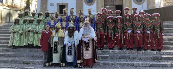 La mañana del sábado 5 de enero, los representantes de los Reyes Magos aterrizarán en helicóptero en la Ciudad Deportiva. // CharryTV