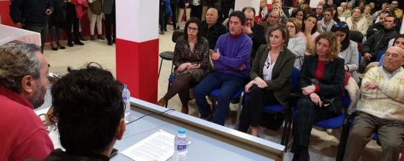 El PSOE de Ronda elige su lista de candidatos para las elecciones municipales de mayo, El sector de la formación, que pertenece al grupo municipal socialista, se ausentó de esta asamblea extraordinaria en la que se congregaron unos 135 militantes, 18 Feb 2019 - 19:31