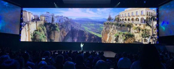 La imagen de Ronda aparece en la presentación del Samsung Galaxy S10 en San Francisco, Nuestra ciudad fue protagonista por sorpresa en un evento que pudo seguirse por streaming a nivel mundial y que cubrieron en torno a 5.000 periodistas, 21 Feb 2019 - 18:25
