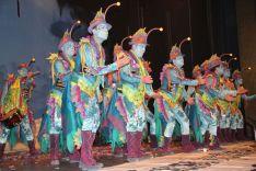 El Arrecife recibió una calurosa ovación del público tras su actuación. // CharryTV