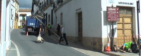 Comienzan las obras para eliminar el estrechamiento de la Calle Armiñán, Tras las actuaciones, la vía contará con cinco metros en todo…, 18 Mar 2019 - 18:36