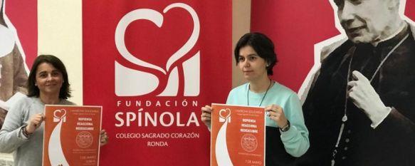 """El Centro Sagrado Corazón organiza una marcha para ayudar a un colegio venezolano, Los rondeños podrán contribuir a la campaña """"Alimentar la esperanza"""" participando de esta iniciativa solidaria el próximo martes 7 de mayo, 02 May 2019 - 19:50"""