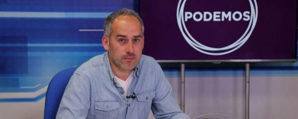 """Cordero: """"El corte del Puente Nuevo ha sido uno de los puntos de fricción con Izquierda Unida"""", El candidato de Podemos a la alcaldía de Ronda aspira a superar…, 16 May 2019 - 20:02"""