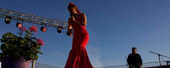 Joana Jiménez conjuga música y baile en su pregón de Ronda Romántica 2019, La cantante sevillana puso de relieve los valores culturales,…, 17 May 2019 - 13:47