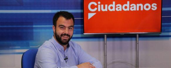 """Serrano: """"Prometo trabajo y transparencia"""", El candidato de Ciudadanos Ronda considera que los sectores…, 20 May 2019 - 12:49"""