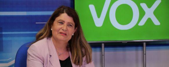 """Coronel: """"Nuestro foco es que Ronda sea declarada Patrimonio de la Humanidad"""", La candidata de Vox a la alcaldía de Ronda explica que iniciará…, 20 May 2019 - 18:49"""
