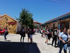 El Instituto Rodríguez Delgado ha vuelto a ser este año sede de Selectividad en Ronda y la Serranía. // CharryTV