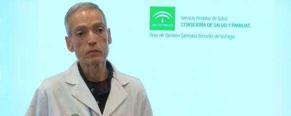El aumento de las ETS también afecta a la Serranía de Ronda, El responsable de Epidemiología del Área Sanitaria, Carlos…, 13 Jun 2019 - 19:50