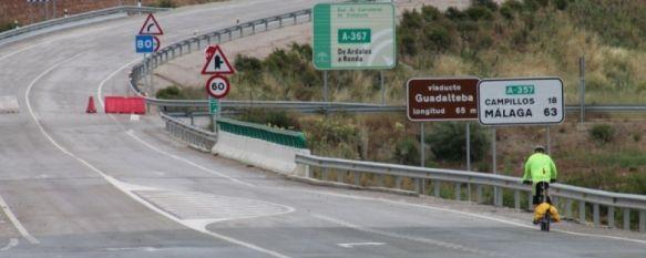 Los arreglos en la carretera que une Ronda y Ardales supondrán una inversión de 4,7 millones, La actuación consistirá en la rehabilitación del pavimento en más de 40 kilómetros de la A-367 y durante la misma no serán precisos cortes ni desvíos de tráfico, 18 Jun 2019 - 17:57